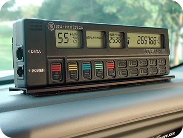 Nitestar DMI mounted on a dashboard
